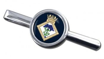HMS Eaglet (Royal Navy) Round Tie Clip