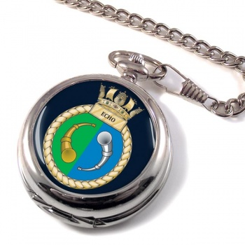 HMS Echo (Royal Navy) Pocket Watch