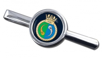 HMS Echo (Royal Navy) Round Tie Clip