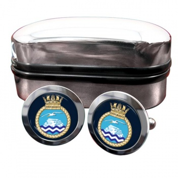 HMS Endurance (Royal Navy) Round Cufflinks