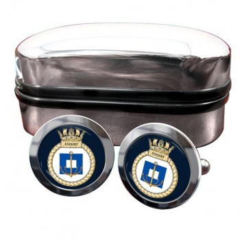 HMS Exploit (Royal Navy) Round Cufflinks
