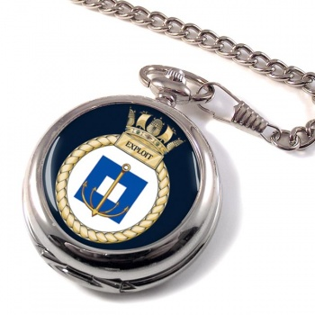 HMS Exploit (Royal Navy) Pocket Watch