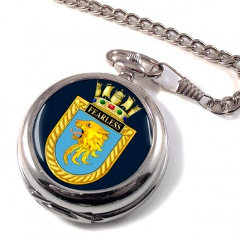 HMS Fearless (Royal Navy) Pocket Watch