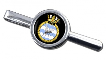 HMS Fly (Royal Navy) Round Tie Clip