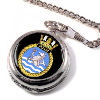 HMS Foam (Royal Navy) Pocket Watch