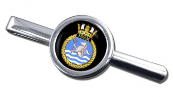 HMS Foam (Royal Navy) Round Tie Clip