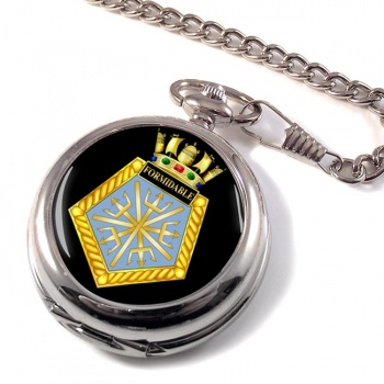 HMS Formidable (Royal Navy) Pocket Watch