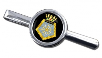 HMS Formidable (Royal Navy) Round Tie Clip
