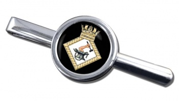 HMS Forward (Royal Navy) Round Tie Clip