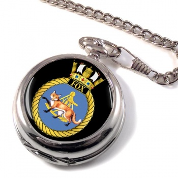 HMS Fox (Royal Navy) Pocket Watch