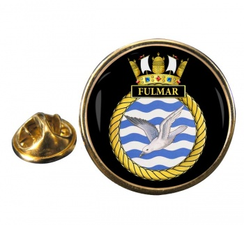 HMS Fulmar (Royal Navy) Round Pin Badge
