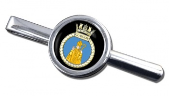HMS Glasgow (Royal Navy) Round Tie Clip