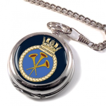 HMS Illustrious (Royal Navy) Pocket Watch