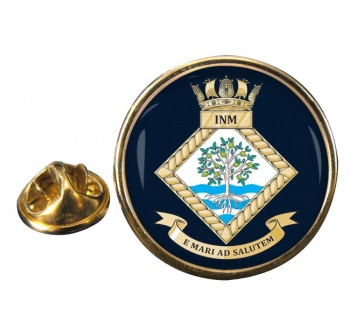 Institute of Naval Medicine (Royal Navy) Round Pin Badge