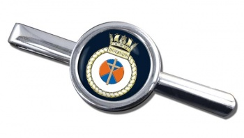 HMS Inverness (Royal Navy) Round Tie Clip