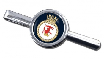 HMS Iron Duke (Royal Navy) Round Tie Clip
