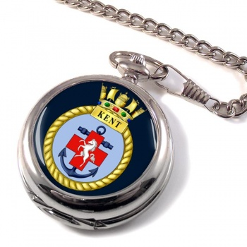 HMS Kent (Royal Navy) Pocket Watch
