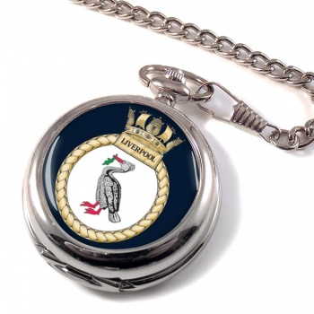 HMS Liverpool (Royal Navy) Pocket Watch