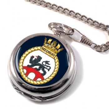 HMS Medway (Royal Navy) Pocket Watch