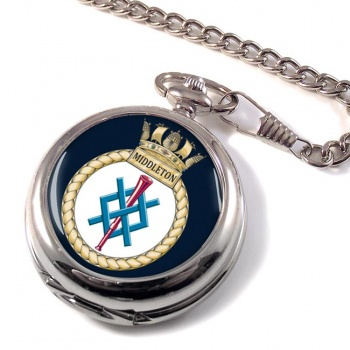 HMS Middleton (Royal Navy) Pocket Watch