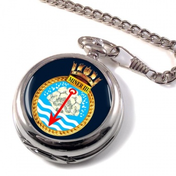 HMS Miner III (Royal Navy) Pocket Watch