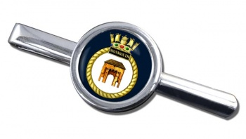 HMS Monmouth (Royal Navy) Round Tie Clip