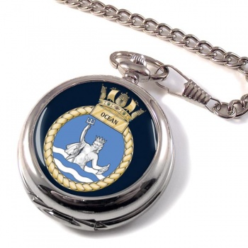 HMS Ocean (Royal Navy) Pocket Watch