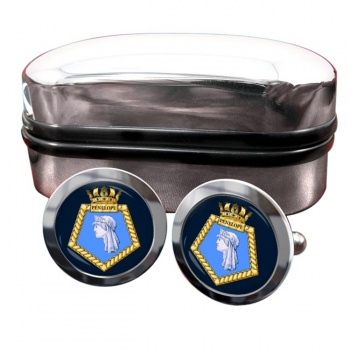 HMS Penelope (Royal Navy) Round Cufflinks