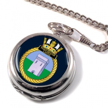 HMS Portchester Castle (Royal Navy) Pocket Watch