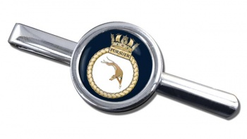 HMS Pursuer (Royal Navy) Round Tie Clip
