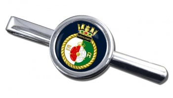 HMS Queen Elizabeth (Royal Navy) Round Tie Clip
