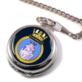 HMS Queenborough (Royal Navy) Pocket Watch