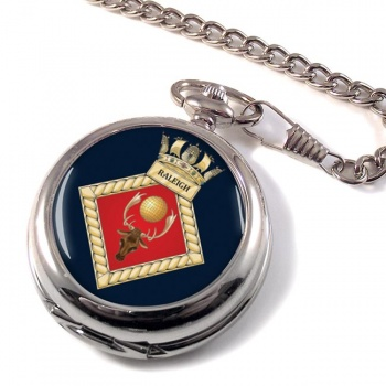 HMS Raleigh (Royal Navy) Pocket Watch