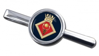 HMS Raleigh (Royal Navy) Round Tie Clip