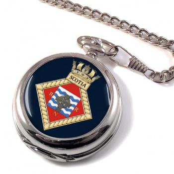 HMS Scotia (Royal Navy) Pocket Watch