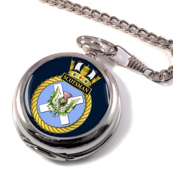 HMS Scotsman (Royal Navy) Pocket Watch