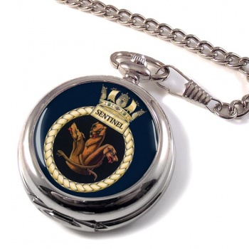 HMS Sentinel (Royal Navy) Pocket Watch