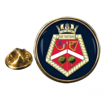HMS Siskin (Royal Navy) Round Pin Badge