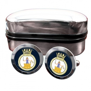 HMS Southampton (Royal Navy) Round Cufflinks