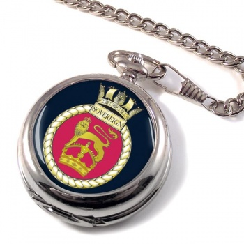 HMS Sovereign (Royal Navy) Pocket Watch