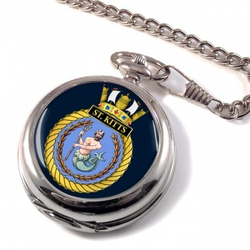 HMS St. Kitts (Royal Navy) Pocket Watch