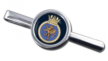 HMS Swiftsure (Royal Navy) Round Tie Clip