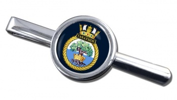 HMS Tantaside (Royal Navy) Round Tie Clip