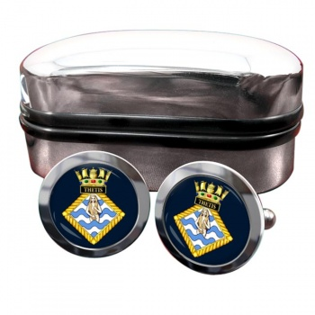 HMS Thetis (Royal Navy) Round Cufflinks
