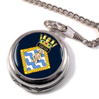 HMS Thetis (Royal Navy) Pocket Watch