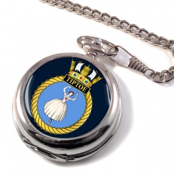 HMS Tiptoe (Royal Navy) Pocket Watch