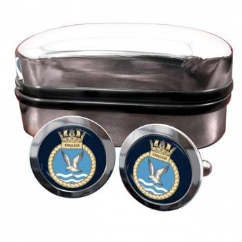 HMS Tireless (Royal Navy) Round Cufflinks