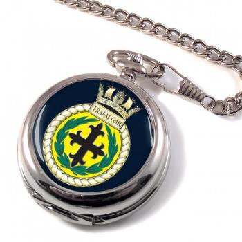 HMS Trafalgar (Royal Navy) Pocket Watch