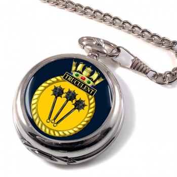 HMS Truculent (Royal Navy) Pocket Watch
