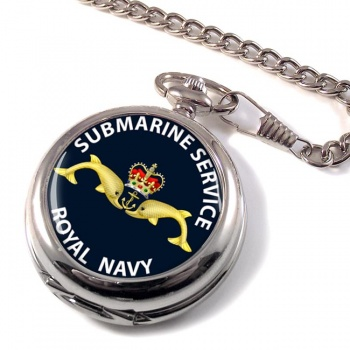 Royal Navy Submarine Service Pocket Watch